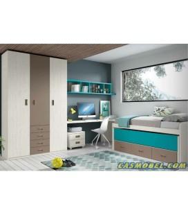 Dormitorio juvenil basic 013